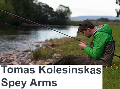 Tomas Kolesinskas Casting at The Virtual Irish Fly Fair 2020